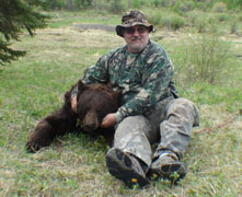 Bow Hunting Alberta for bear