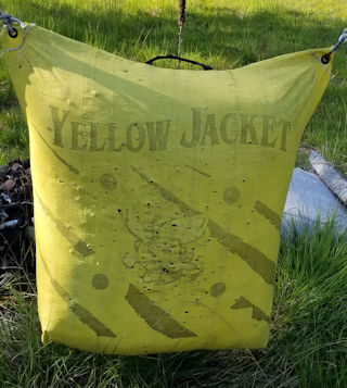 Used Yellow Jacket Archery Target